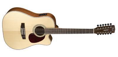 CORT Westerngitarre, MR710F12, Natur Satin, 12-Saiter, Preamp