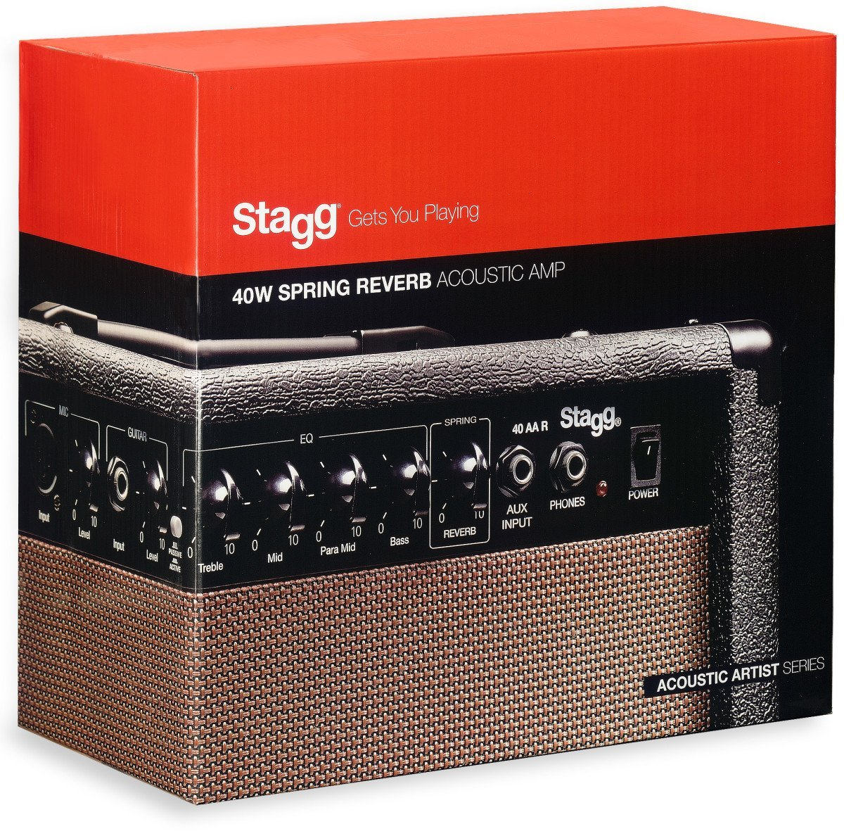 Stagg 40 AA R
