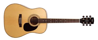 CORT Westerngitarre, AD880, Natur Satin