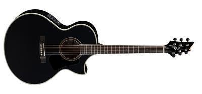 CORT Westerngitarre, NDX20, schwarz, Preamp