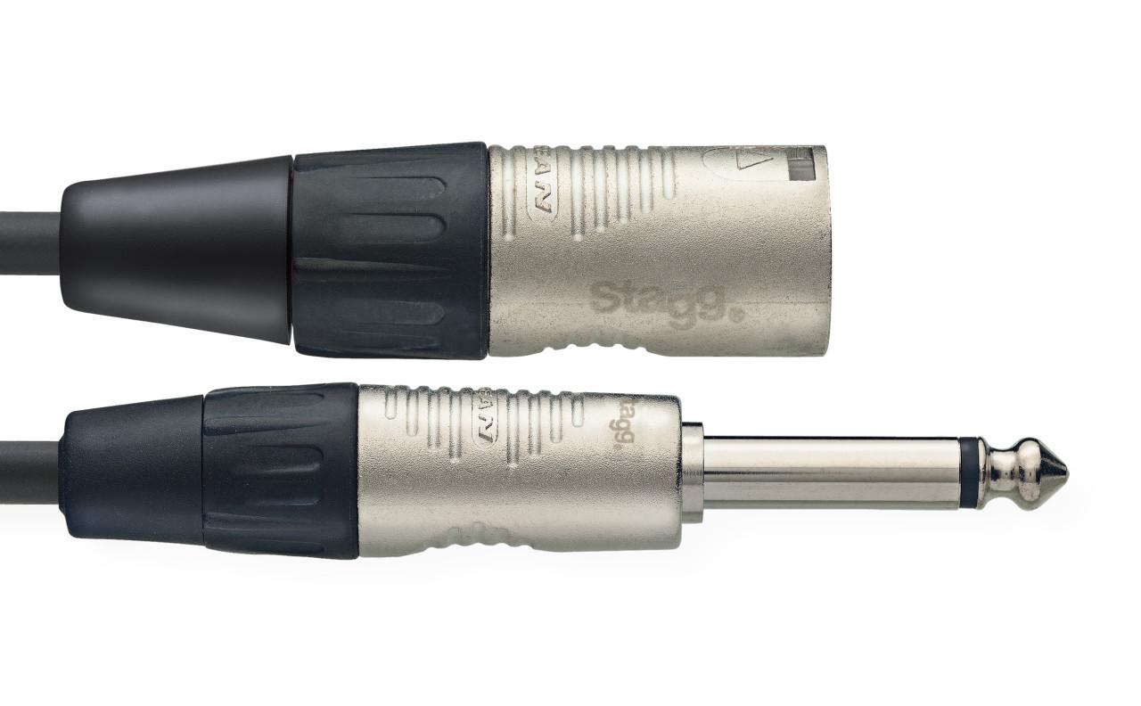 Stagg  XLR(male)/Klinke(mono) NAC3PXMR