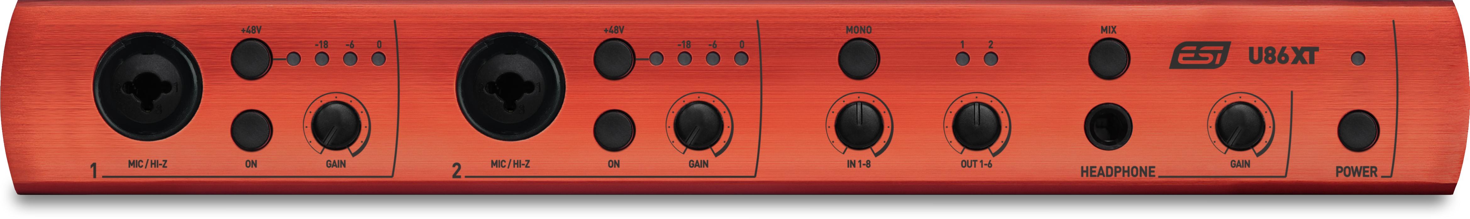 ESI U86 XT USB Audio Interface