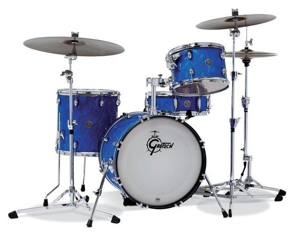 Gretsch Catalina Club Kesselsatz Blue Satin Flame
