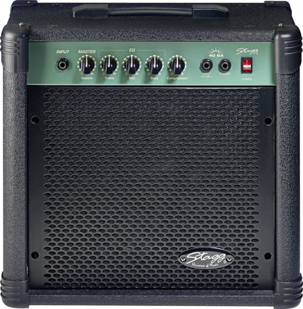 Stagg 40 W RMS Bass Amplifier