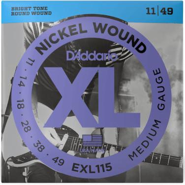 D'Addario EXL115 Nickel Wound Medium 11-49