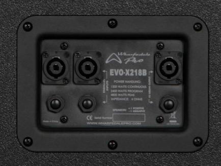 Wharfedale Pro EVO-X18B Subwoofer