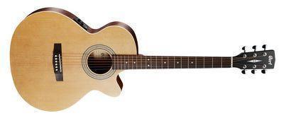 CORT Westerngitarre, SFX-ME, Open Pore, Preamp