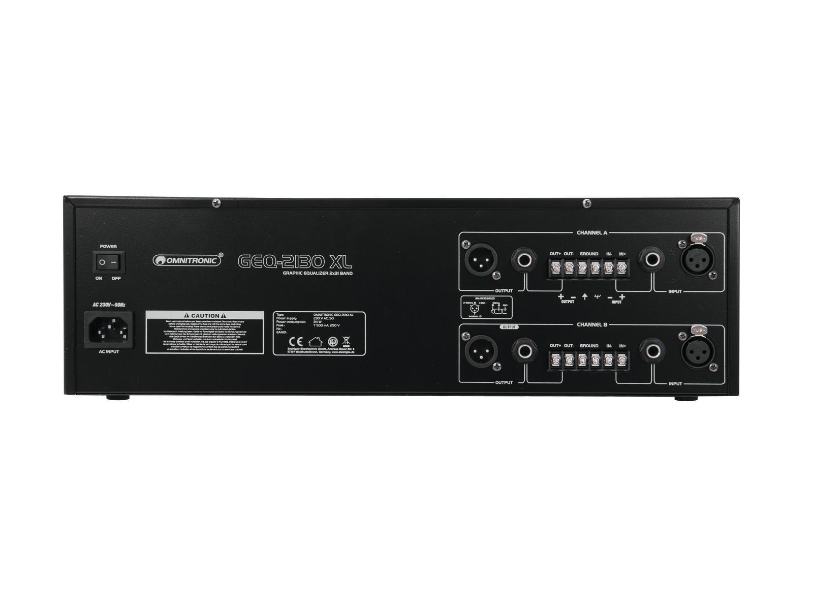 Omnitronic GEQ-2310XL